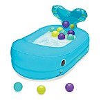 Infantino® Whale Bubble Ball Inflatable Bath Tub