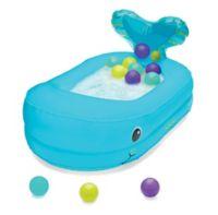 Infantino® Whale Bubble Ball Inflatable Bath Tub