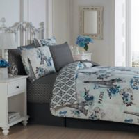 Avondale Manor Cherie 6-Piece Twin Comforter Set in Blue