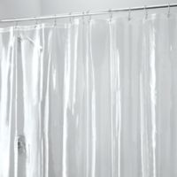 iDesign® 108-Inch x 72-Inch Vinyl Shower Liner with Hooks