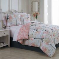 Avondale Manor Amour 8-Piece Queen Comforter Set in Pink