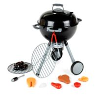 Theo Klein 21-Inch Weber Play Grill in Black/Grey