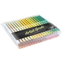 Trademark Games Artist Grade 72-Piece Pre-Sharpened Colored Pencils