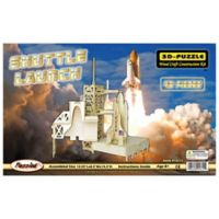 Puzzled Shuttle Launch 46-Piece 3D Wooden Puzzle