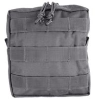 Red Rock Outdoor Gear Medium MOLLE Utility Pouch in Grey