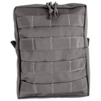 Red Rock Outdoor Gear Large MOLLE Utility Pouch in Tornado Grey