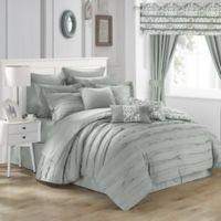 Chic Home Geraldina 24-Piece Queen Comforter Set in Silver
