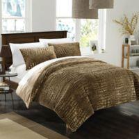 Chic Home Allie 3-Piece Queen Comforter Set in Gold