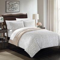 Chic Home Allie 3-Piece Queen Comforter Set in Beige