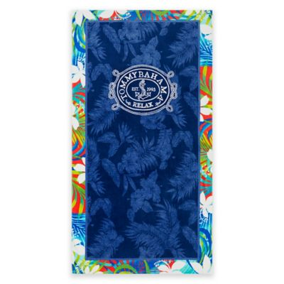 Good Tommy Bahama® Tropical Tangle Beach Towel In Blue