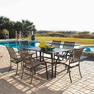 panama jack island breeze 7piece outdoor dining set