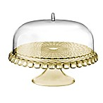 Fratelli Guzzini Tiffany Cake Stand and Dome Set in Sand