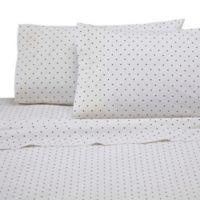 Martex 225-Thread Count Standard Pillowcase Set in Black (Set of 2)