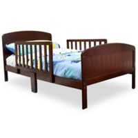 Rack Furniture Harrisburg Wood Toddler Bed in Rich Cherry