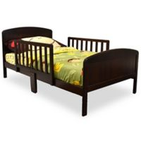 Rack Furniture Harrisburg Wood Toddler Bed in Espresso