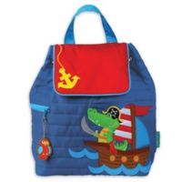 Stephen Joseph® Pirate Quilted Backpack in Blue
