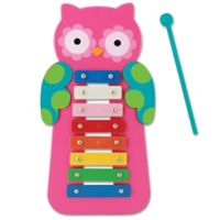Stephen Joseph® Owl Xylophone in Pink