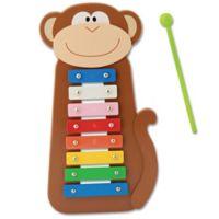 Stephen Joseph® Monkey Xylophone in Brown