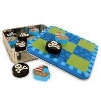Stephen Joseph® Pirate Tic Tac Toe Magnetic Play Set in Blue