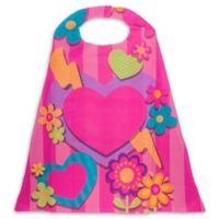 Stephen Joseph® Heart Cape in Pink