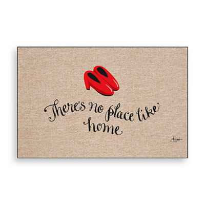 No Place Like Home Door Mat