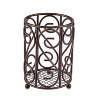 Home Basics® Scroll Cutlery Caddy in Bronze