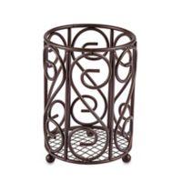 Home Basics® Scroll Cutlery Caddy in Bronze