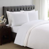 Charisma® Dot 310-Thread-Count Twin Sheet Set in Bright White