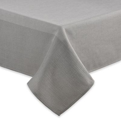 ED Ellen DeGeneres™ Brody 60 Inch X 120 Inch Oblong Tablecloth In Grey