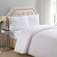 Charisma® 310-Thread-Count Solid Full Sheet Set in Bright White