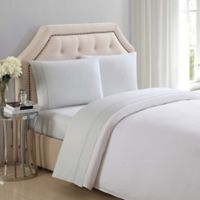 Charisma® 310-Thread-Count Solid Twin Sheet Set in Dawn Blue