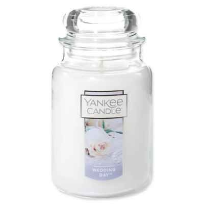 Yankee Candle® Housewarmer® Wedding Day™ Large Classic Jar Candle