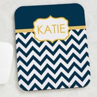 Preppy Chic Mouse Pad