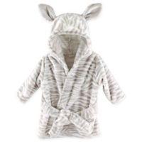 Hudson Baby® Zebra Plush Bathrobe
