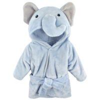 Hudson Baby® Elephant Bathrobe in Blue