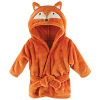 BabyVision® Hudson Baby® Orange Fox Animal Bathrobe