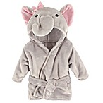 BabyVision® Hudson Baby® Pink Elephant Animal Bathrobe