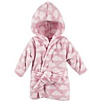 BabyVision® Hudson Baby® Pink Cloud Bathrobe