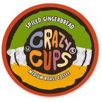 22-Count Crazy Cups® Spiced Gingerbread Flavored Coffee