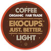 40-Count EkoCups™ Organic Light Gourmet Coffee