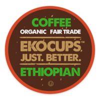 40-Count EkoCups™ Artisan Organic Ethiopian Coffee