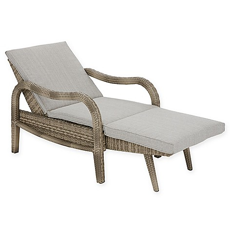 madison park danielle outdoor lounge convertible to chaise chair bed bath beyond. Black Bedroom Furniture Sets. Home Design Ideas