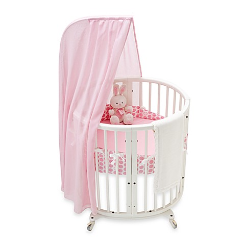 stokke sleepi mini pink dots crib bedding set and accessories bed bath beyond. Black Bedroom Furniture Sets. Home Design Ideas