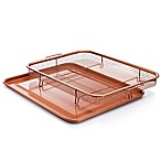 Gotham™ Steel Ti-Cerama™ Nonstick 2-Piece XL Copper Crisper Tray Set