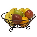 Home Basics® Fruit Basket in Bronze