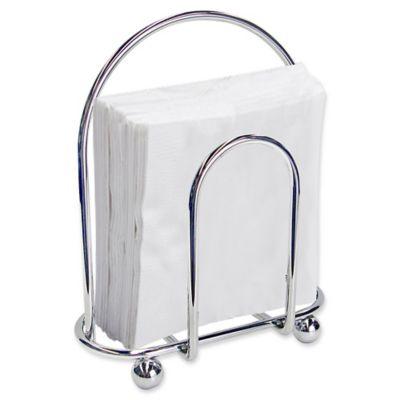 home basics napkin holder in chrome - Napkin Holders