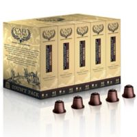 50-Count Café AllOro Tondo Coffee Capsules for Single Serve Coffee Makers