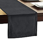 Velvet 90-Inch Table Runner in Charcoal