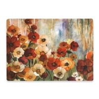 Floral Placemat in Red
