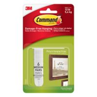3M Command™ Medium Picture Hanging Strips (Set of 6)